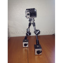 Support GoPro Magnetique