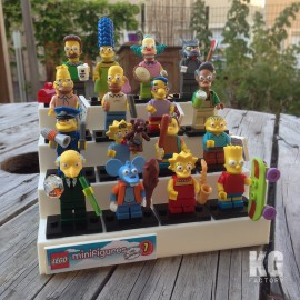 LEGO Collectable minifigure display Stand